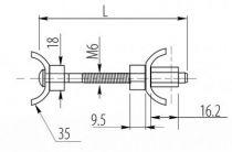 Raccords plan de travail aVB 5 - acier chromé