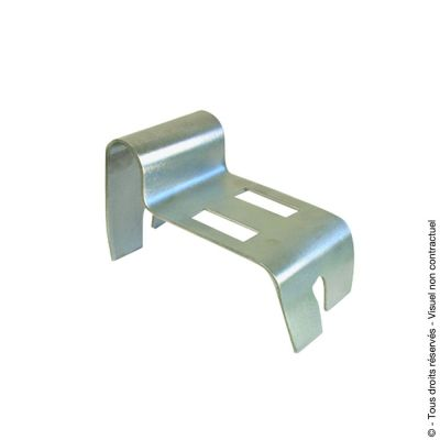 Sabot de portail inox - Inox 316 L brossé