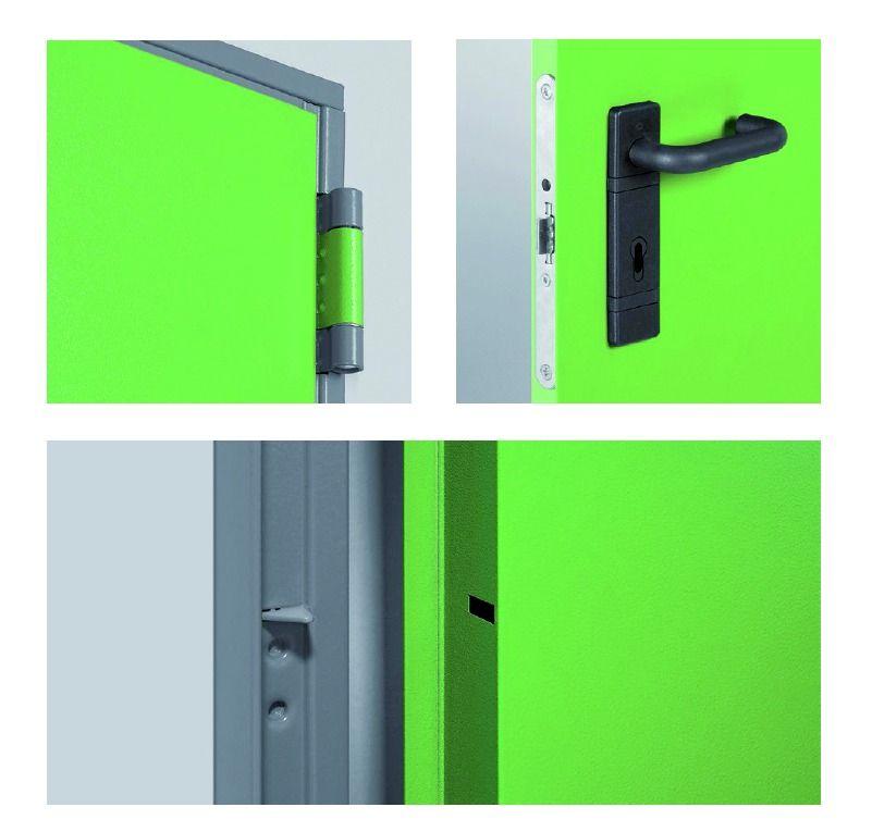 Porte standard gamme rever 1 vantail for Porte 1 vantail