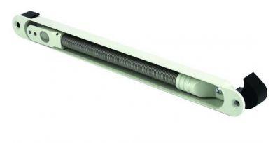 Flexible à encastrer en acier blanc - ouverture 100°
