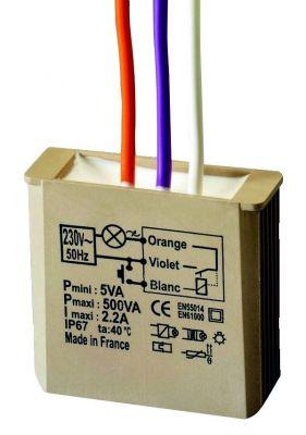 Télévariateur intelligent sans neutre 500 W
