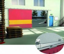 Equipement pour porte de 80 kg - rail 35 x 30 mm