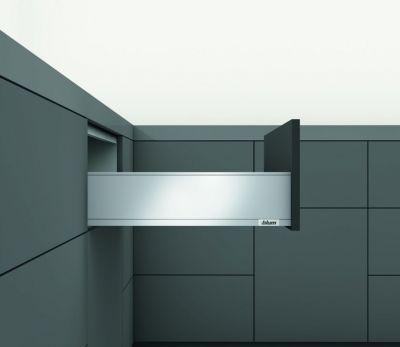 LÉGRABOX hauteur K : 144 mm - inox anti-traces