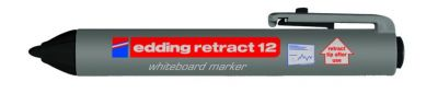 Marqueur effaçable à sec rétractable E-12 - pointe ogive 1,5 - 3 mm