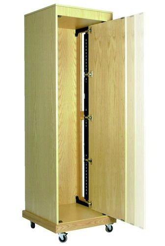 Coulisse 1432 pour porte coulissante de meuble for Porte vitree pour meuble