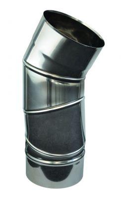 Coude orientable Clip'inox 0-90° inox 304