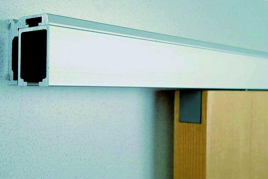 Ferrure de porte coulissante bois hawa junior 40 kg - Quincaillerie porte coulissante exterieure ...