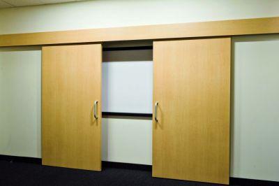 Ferrure de porte coulissante bois symetric 80/Z