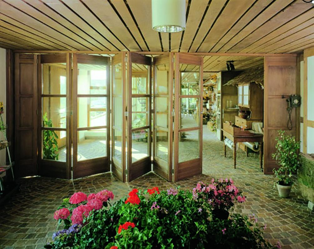 Porte De Séparation Pliante ferrure de portes coulissantes / pliantes bois centerfold 80/h