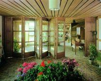 Ferrure de portes coulissantes / pliantes bois centerfold 80/H