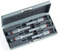 Coffret de 5 tournevis Micro-Tech® - à fente - Phillips® Série AEF.J1