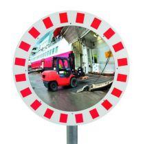 Miroir de contrôle circulation industrie et voies privées