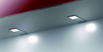 Kit 3 spots led rectangulaire - blanc neutre - 12 V