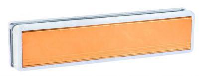 Entrée de boite aux lettres polyamide avec volet aluminium