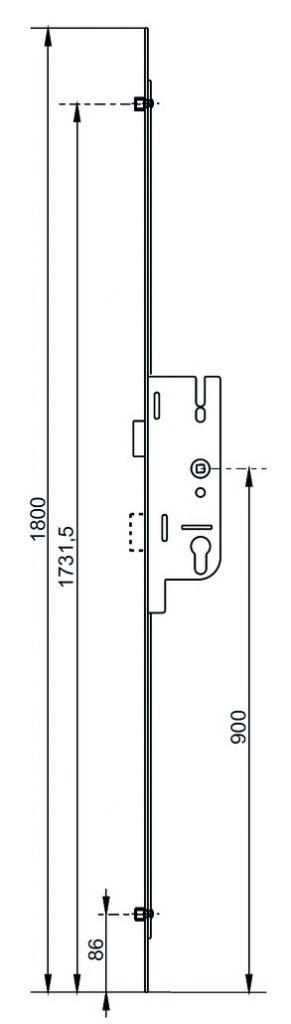 Fermeture latérale europa R2 - R4