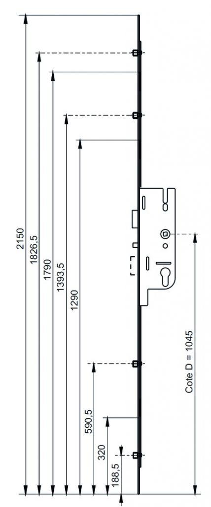 Fermeture latérale automatique Fercomatic R2 - R4 - MR/R