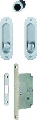 Set porte coulissante aluminium - modèle 4930 - Set 1