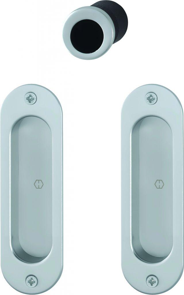set de porte coulissante aluminium pour porte int rieure mod le 4930. Black Bedroom Furniture Sets. Home Design Ideas