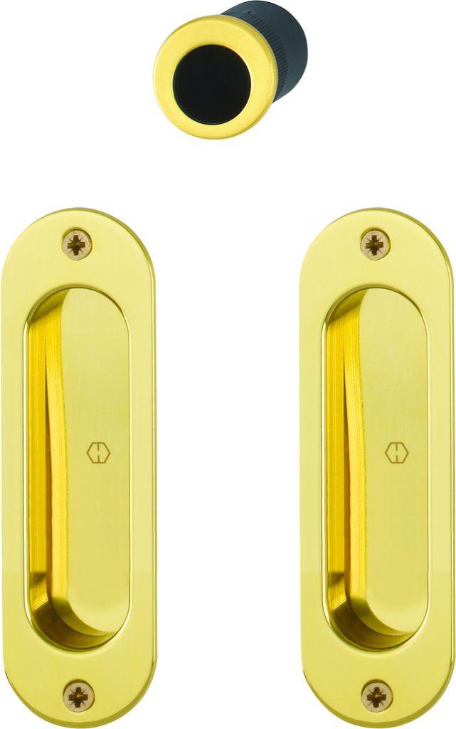 Set de porte coulissante aluminium pour porte intérieure - modèle 4930
