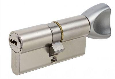 Cylindre à bouton nickelé
