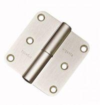 Paumelles diverses aluminium - Lame fermée - bouts arrondis