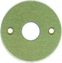 Rosace seule ronde - épaisseur 2 mm
