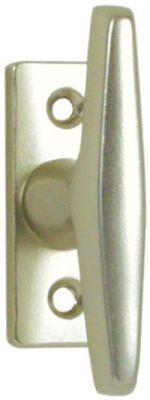 Bouton sur platine alu anodisé