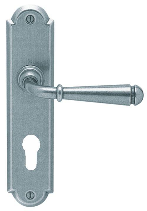 Esprit de Forges plaque 226 x 52 mm - entraxe de fixation 195 mm