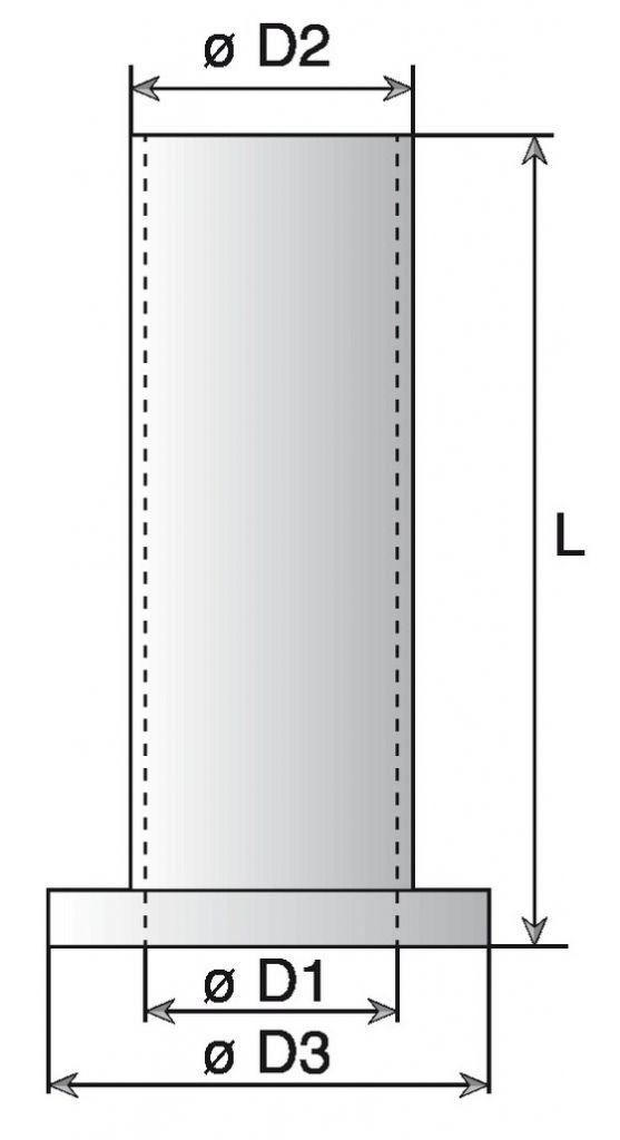 Ferrure de volets en aluminium Bague - noir