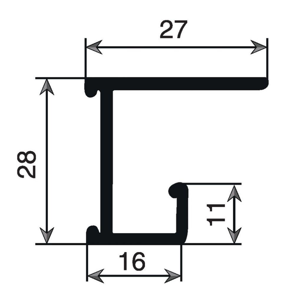 Profils aluminium brut