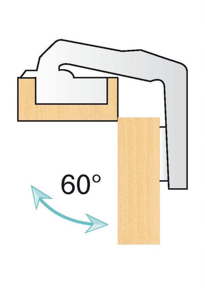 Charnière invisible diverse ø 35 mm série CLIP top