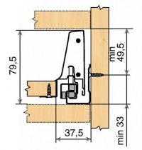 Kit antaro hauteur N : 82,5 mm