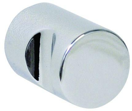Bouton classique cylindrique - zamack à 1 encoche