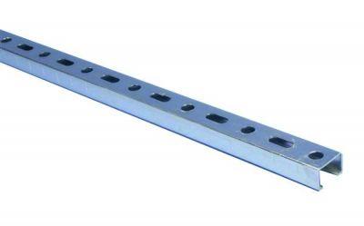 Rail zingué