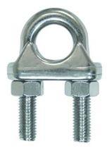 Serre-câble étrier - inox A4