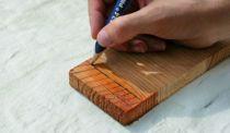 Crayon de charpentier pour bois humide
