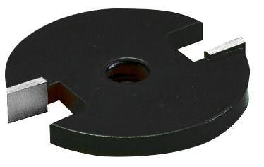 Disque à rainer carbure 2 coupes pour arbre porte-disque