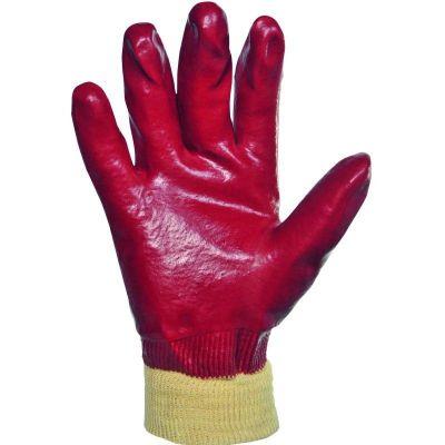 Gants PVC sur support jersey coton