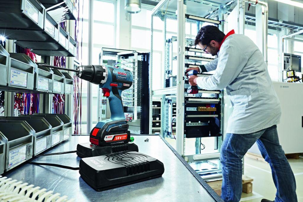 GSR 18,0V-EC - technologie induction 4,0Ah
