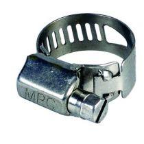 Colliers à bande ajourée acier inoxydable 13 mm - W4 - inox