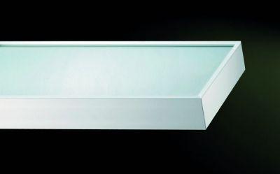 Tablette Téo aluminium lumineuse