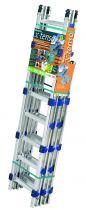 Echelle plate de couvreur modulable en aluminium