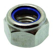 Ecrou hexagonal frein - inox A4 - DIN 985