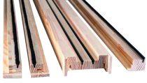 Habillage bois porte simple