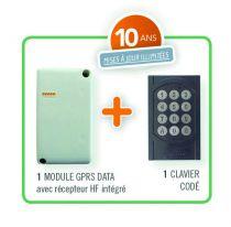 Récepteur GSM + clavier - Intrabox data mini