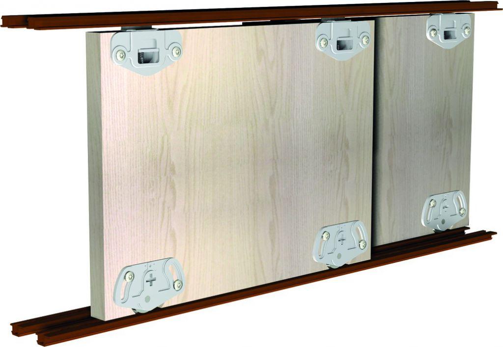 Ferrure de portes coulissantes bois pico 25 for Meuble salle de bain porte coulissante blanc