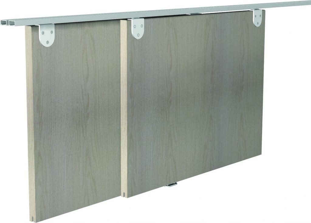 Ferrure de portes coulissantes bois minitub
