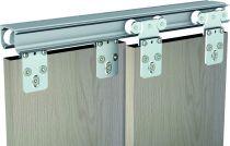 Ferrure de portes coulissantes bois tubel