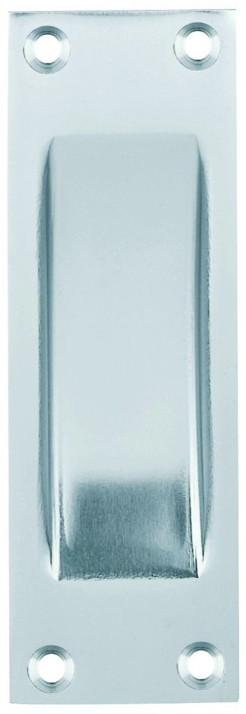 Poignée classique cuvette à encastrer - profondeur 11 mm