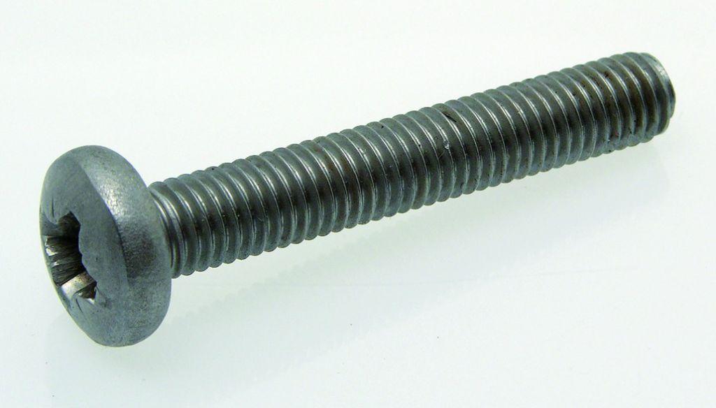 Vis tête cylindrique empreinte pozidriv - inox A2 - DIN 84